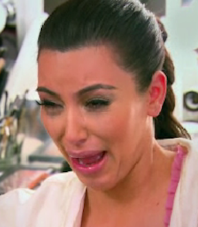 Who doesnt love kims crying face
